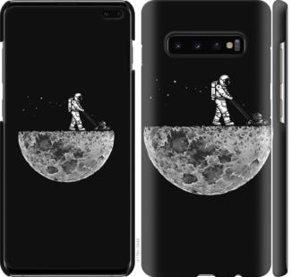 Чехол на Samsung Galaxy S10 Plus Moon in dark