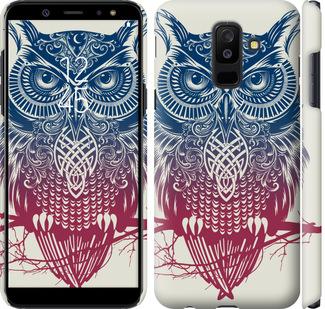 Чехол на Samsung Galaxy A6 Plus 2018 Сова 2