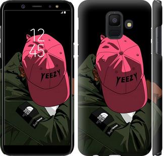 Чехол на Samsung Galaxy A6 2018 logo de yeezy