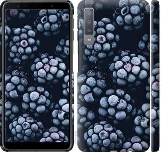 Чехол на Samsung Galaxy A7 (2018) A750F Морозная ежевика