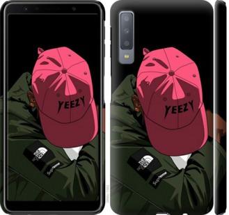 Чехол на Samsung Galaxy A7 (2018) A750F logo de yeezy