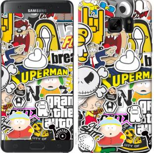 Чехол на Samsung Galaxy Note 7 Duos N930F Popular logos