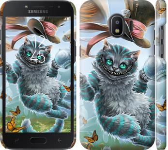 Чехол на Samsung Galaxy J2 2018 Чеширский кот 2