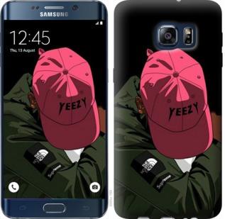 Чехол на Samsung Galaxy S6 Edge Plus G928 logo de yeezy