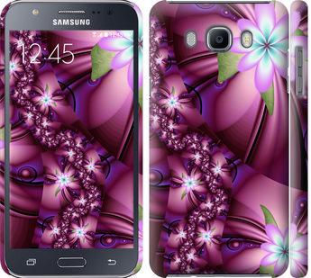 Чехол на Samsung Galaxy J7 (2016) J710F Цветочная мозаика