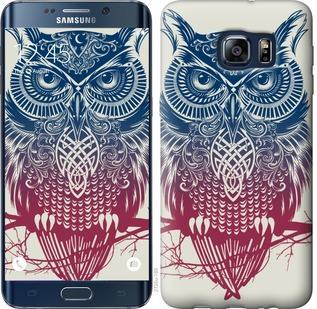 Чехол на Samsung Galaxy S6 Edge Plus G928 Сова 2