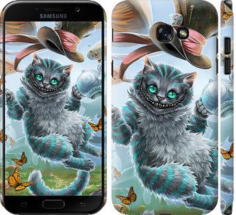 Чехол на Samsung Galaxy A7 (2017) Чеширский кот 2