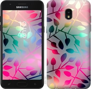 Чехол на Samsung Galaxy J7 2018 Листья