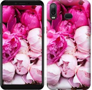 Чехол на Samsung Galaxy A6s Розовые пионы