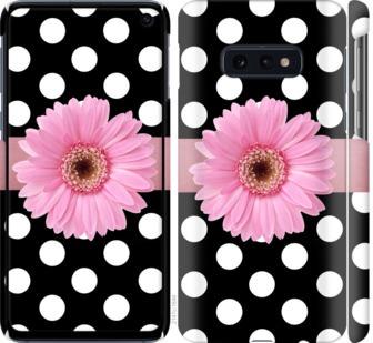 Чехол на Samsung Galaxy S10e Горошек 2
