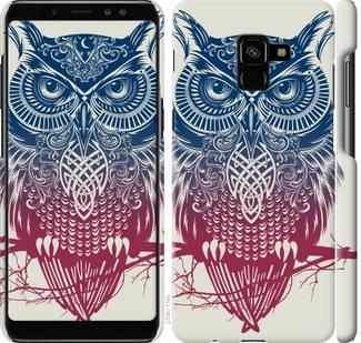 Чехол на Samsung Galaxy A8 Plus 2018 A730F Сова 2