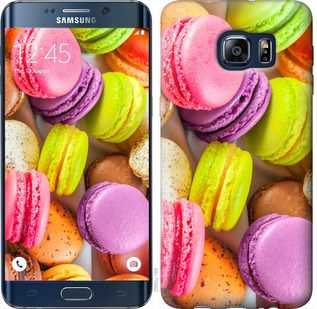 Чехол на Samsung Galaxy S6 Edge Plus G928 Макаруны