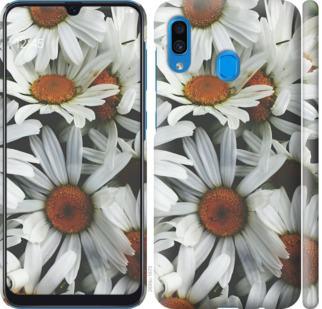 Чехол на Samsung Galaxy A20 2019 A205F Ромашки v2