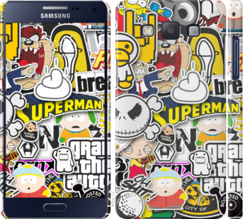 Чехол на Samsung Galaxy A5 A500H Popular logos
