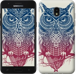 Чехол на Samsung Galaxy J7 2018 Сова 2