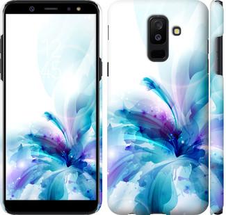 Чехол на Samsung Galaxy A6 Plus 2018 цветок