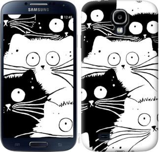 Чехол на Samsung Galaxy S4 i9500 Коты v2