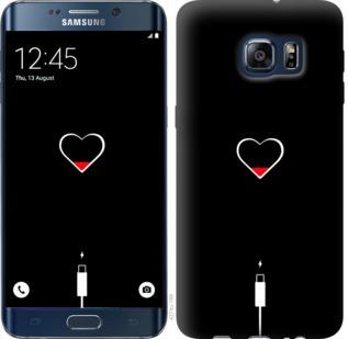 Чехол на Samsung Galaxy S6 Edge Plus G928 Подзарядка