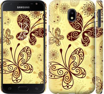 Чехол на Samsung Galaxy J3 (2017) Красивые бабочки
