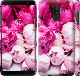 Чехол на Samsung Galaxy J8 2018 Розовые пионы