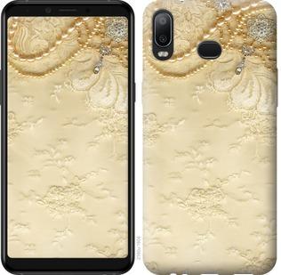 Чехол на Samsung Galaxy A6s Кружевной орнамент