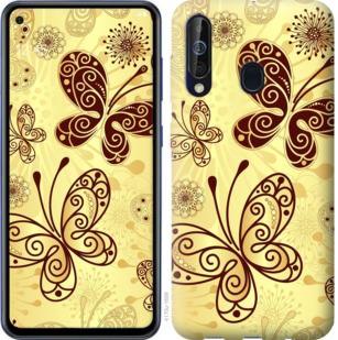 Чехол на Samsung Galaxy A60 2019 A606F Красивые бабочки