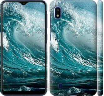 Чехол на Samsung Galaxy A10 2019 A105F Морская волна