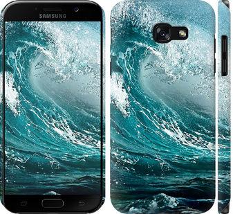 Чехол на Samsung Galaxy A5 (2017) Морская волна