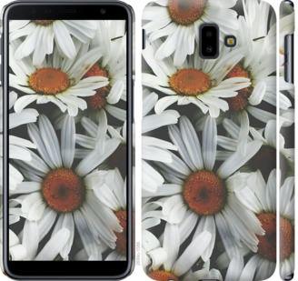 Чехол на Samsung Galaxy J6 Plus 2018 Ромашки v2