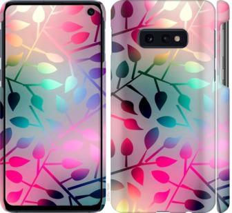 Чехол на Samsung Galaxy S10e Листья