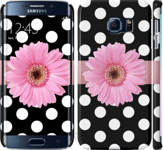 Чехол на Samsung Galaxy S6 Edge G925F Горошек 2
