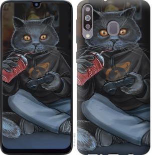 Чехол на Samsung Galaxy M30 gamer cat