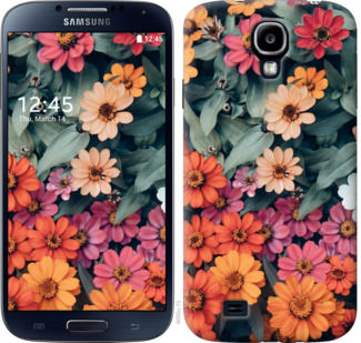 Чехол на Samsung Galaxy S4 i9500 Beauty flowers