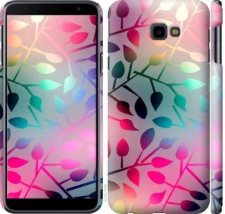 Чехол на Samsung Galaxy J4 Plus 2018 Листья