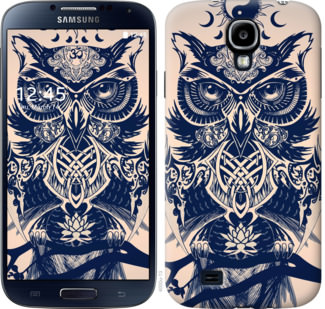 Чехол на Samsung Galaxy S4 i9500 Узорчатая сова