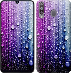 Чехол на Samsung Galaxy M30 Капли воды