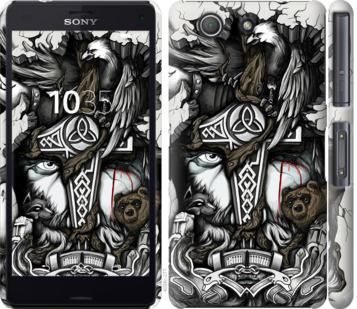 Чехол на Sony Xperia Z3 Compact D5803 Тату Викинг