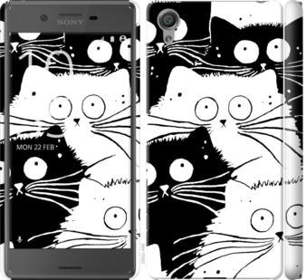 Чехол на Sony Xperia X F5122 Коты v2
