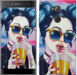 Чехол на Sony Xperia XA2 Ultra H4213 Арт-девушка в очках