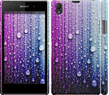 Чехол на Sony Xperia Z1 C6902 Капли воды