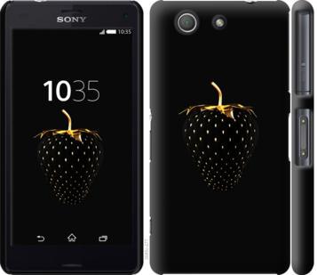 Чехол на Sony Xperia Z3 Compact D5803 Черная клубника