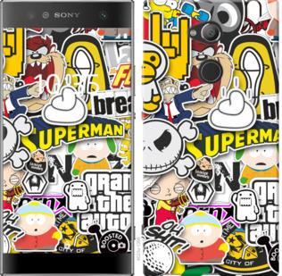 Чехол на Sony Xperia XA2 Ultra H4213 Popular logos