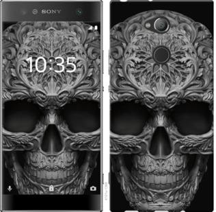 Чехол на Sony Xperia XA2 Ultra H4213 skull-ornament