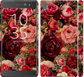 Чехол на Sony Xperia XA Ultra Dual F3212 Цветущие розы
