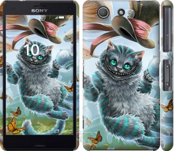Чехол на Sony Xperia Z3 Compact D5803 Чеширский кот 2