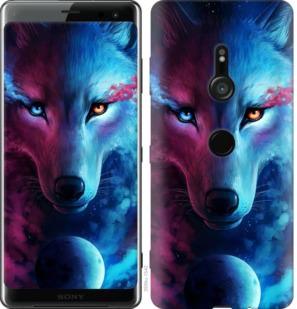 Чехол на Sony Xperia XZ3 H9436 Арт-волк