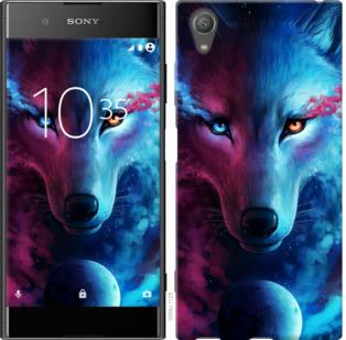 Чехол на Sony Xperia XA1 Plus G3412 Арт-волк