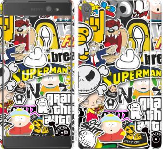Чехол на Sony Xperia XA Ultra Dual F3212 Popular logos
