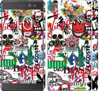 Чехол на Sony Xperia XA Ultra Dual F3212 Many different logos