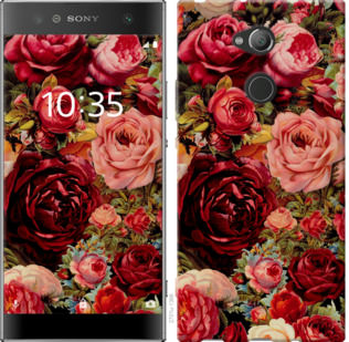 Чехол на Sony Xperia XA2 Ultra H4213 Цветущие розы